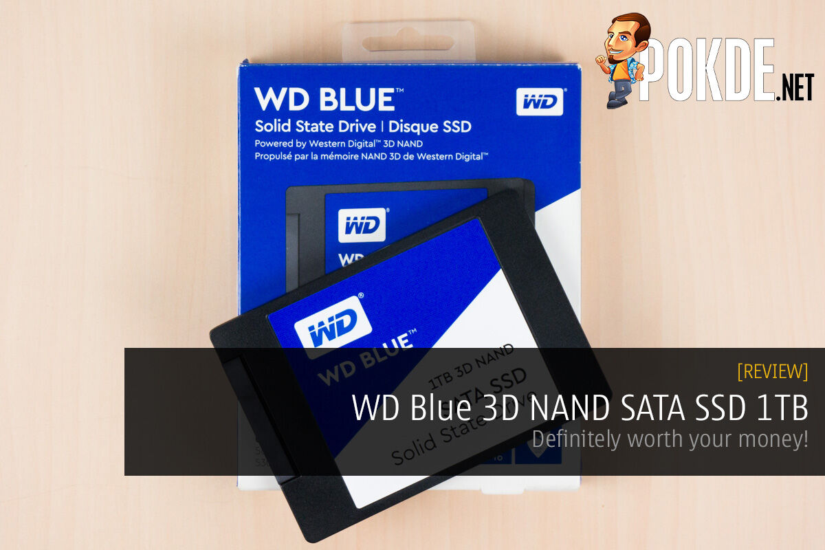 WD Blue 3D NAND SATA SSD 1TB Review — definitely worth your money! 35