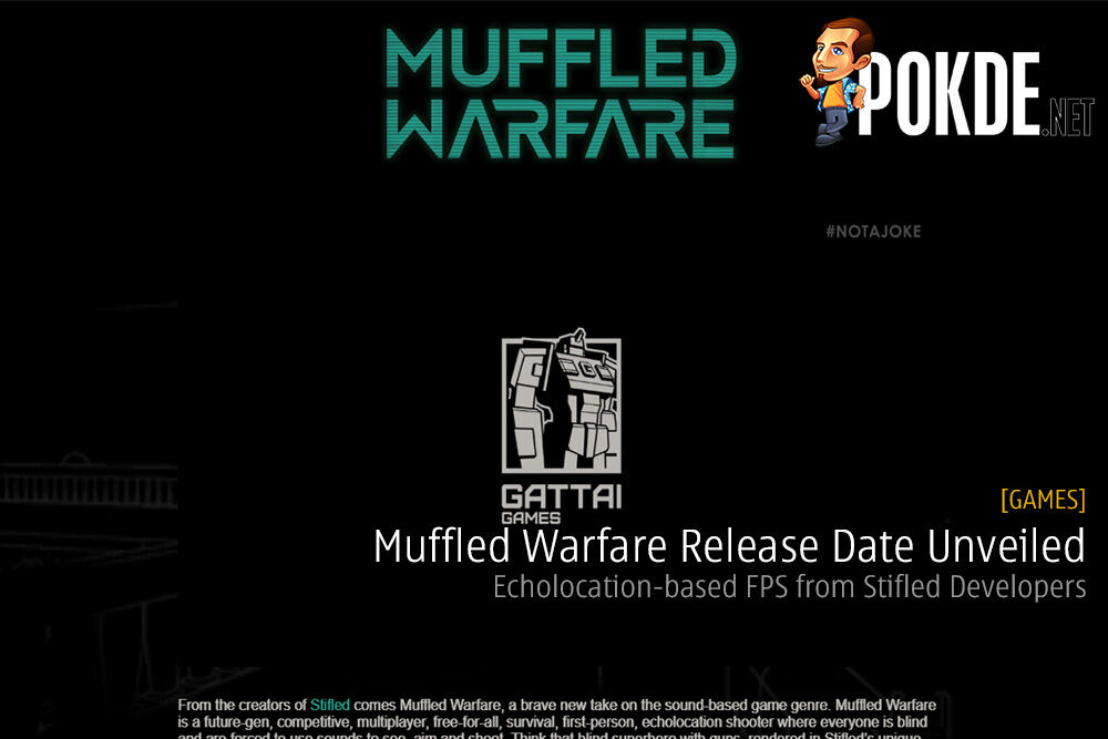 Muffled Warfare Release Date Unveiled - Echolocation-based FPS from Stifled Developers Gattai Games