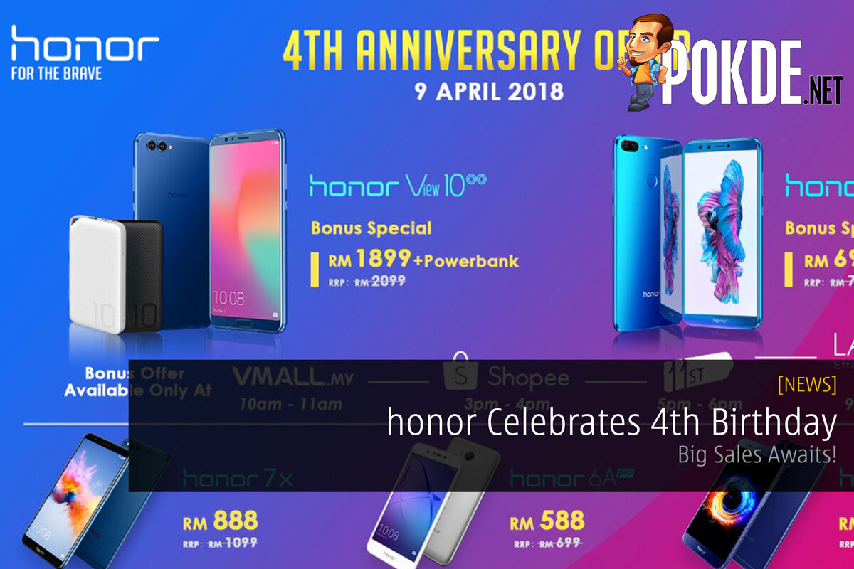honor Celebrates 4th Birthday - Big Sales Awaits! 22