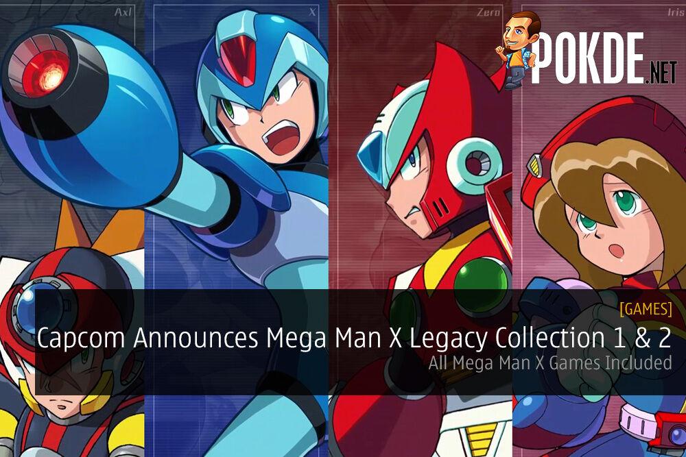 Capcom Announces Mega Man X Legacy Collection 1 & 2