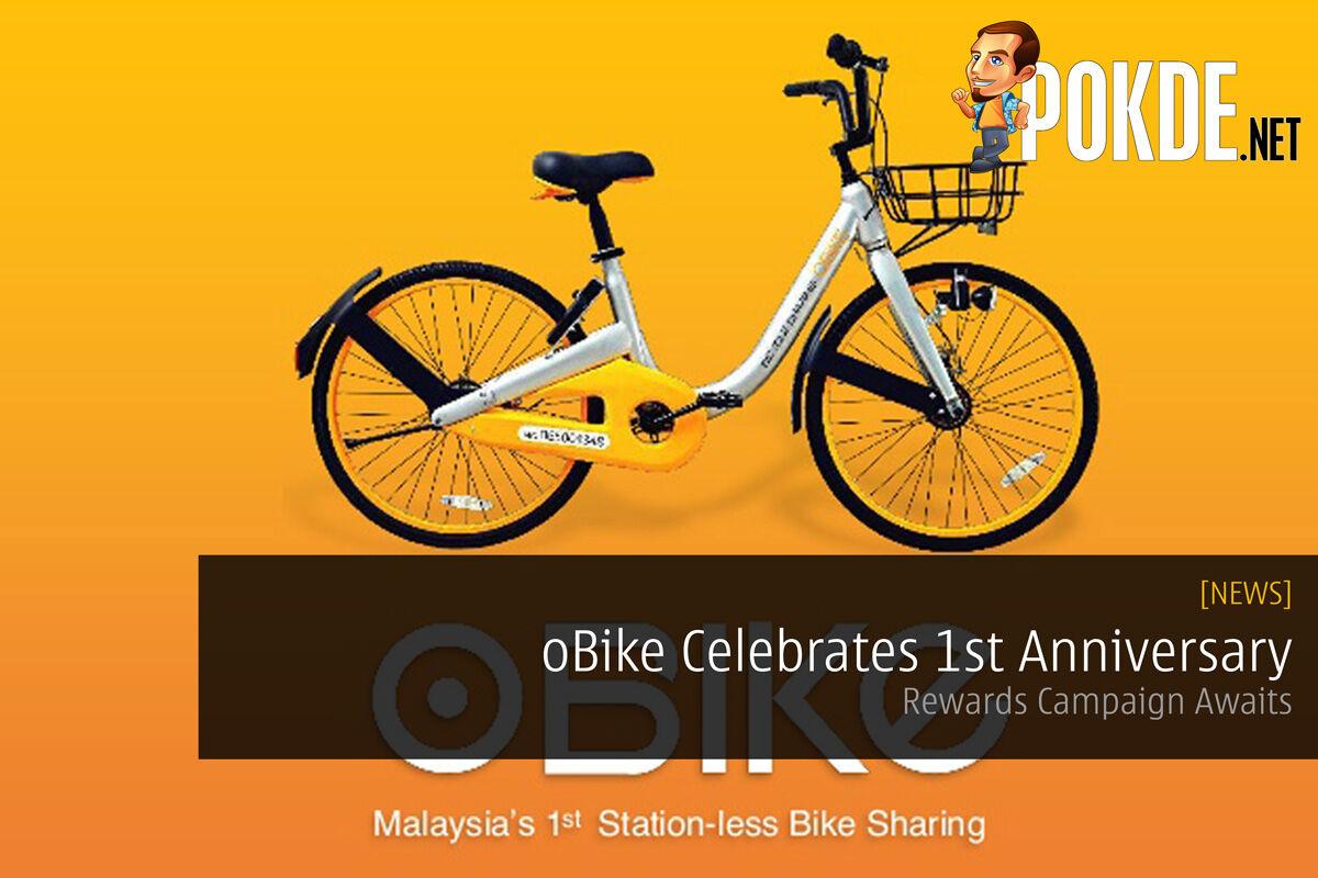 oBike Celebrates 1st Anniversary - Rewards Campaign Awaits 27