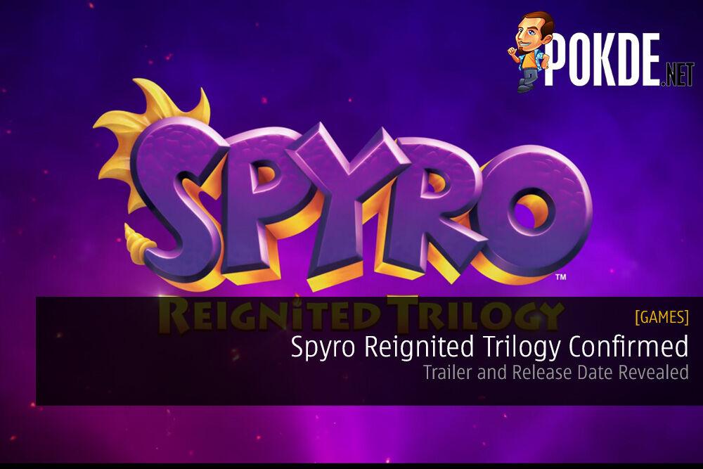 Spyro Reignited Trilogy Confirmed