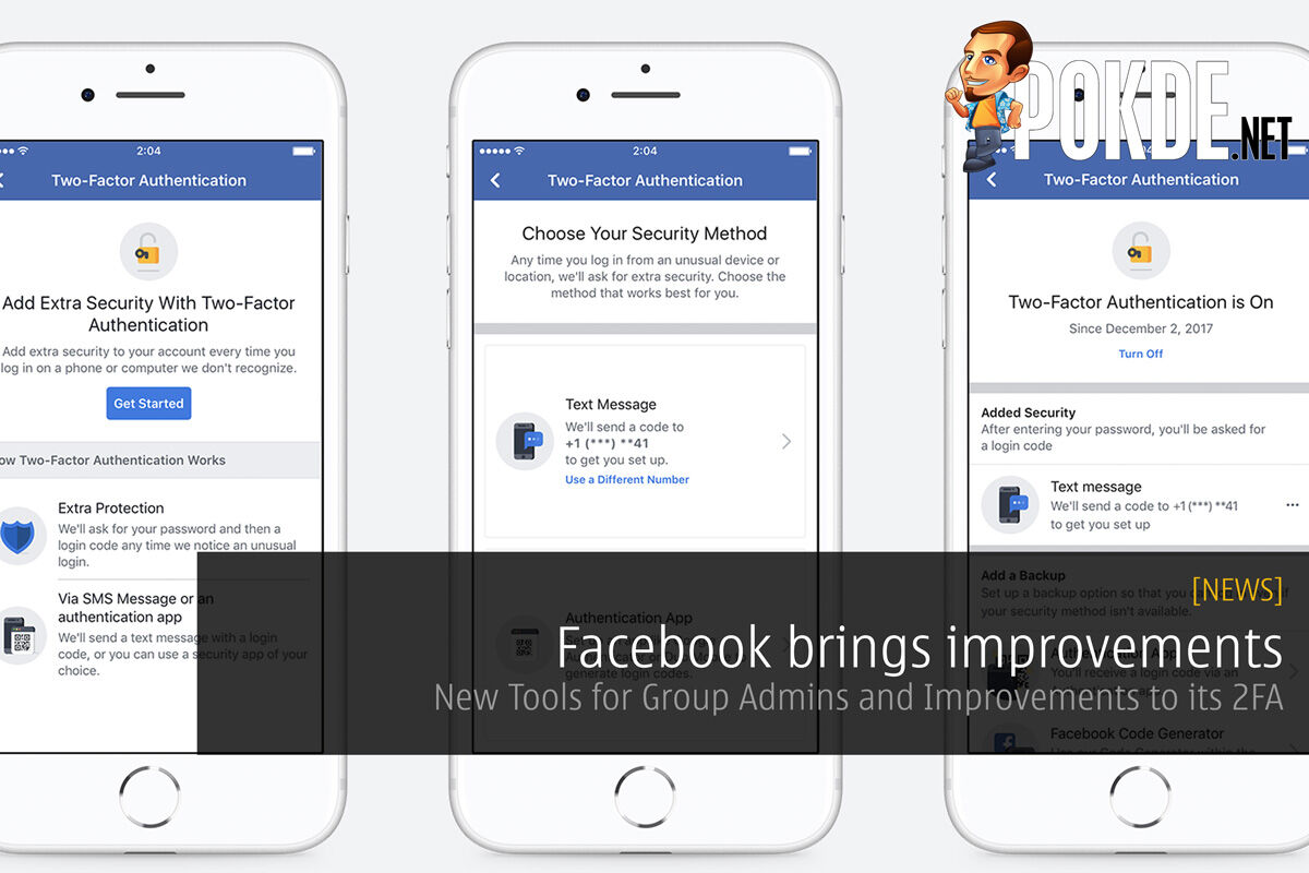 Facebook brings improvements - New Tools for Group Admins and Improvements to its 2FA 19
