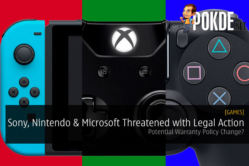 Sony, Nintendo and Microsoft Threatened with Legal Action