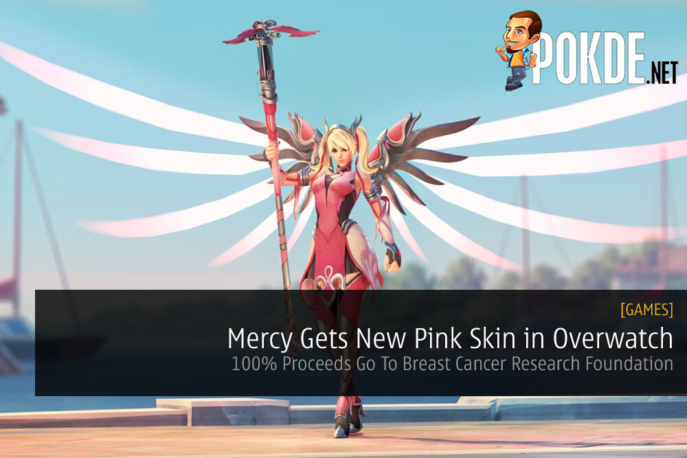 Mercy Gets New Pink Skin in Overwatch for Breast Cancer Research Foundation