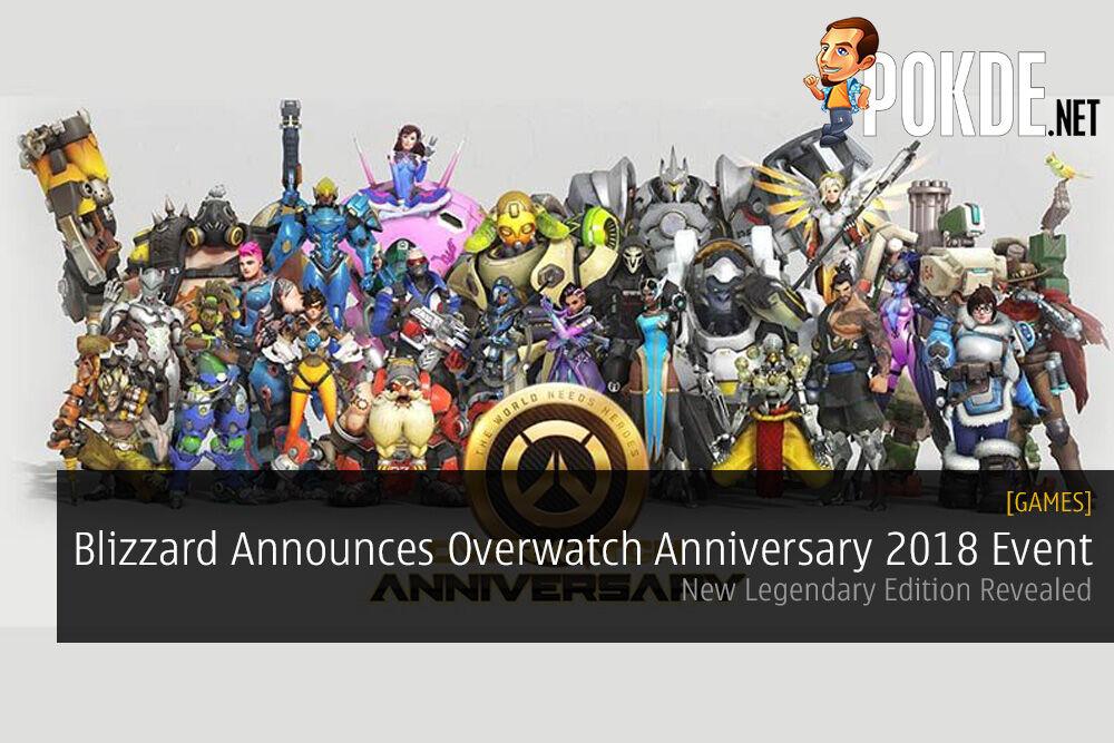 Blizzard Announces Overwatch Anniversary 2018 Event Legendary Edition