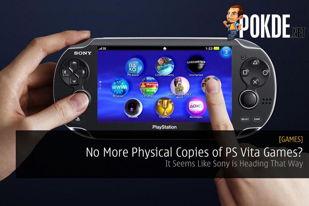 No More Physical Copies of PS Vita Games?