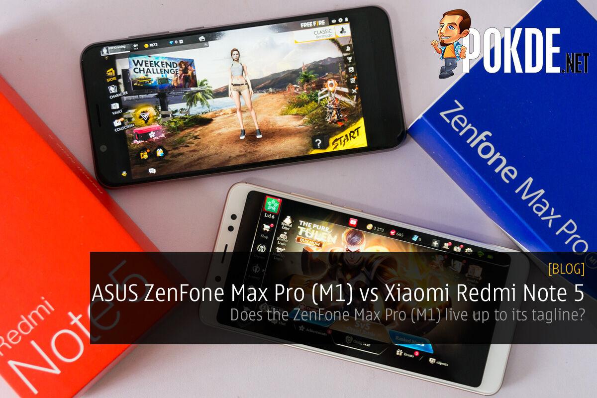 ASUS ZenFone Max Pro (M1) vs Xiaomi Redmi Note 5 — will the ZenFone Max Pro (M1) live up to its tagline? 30
