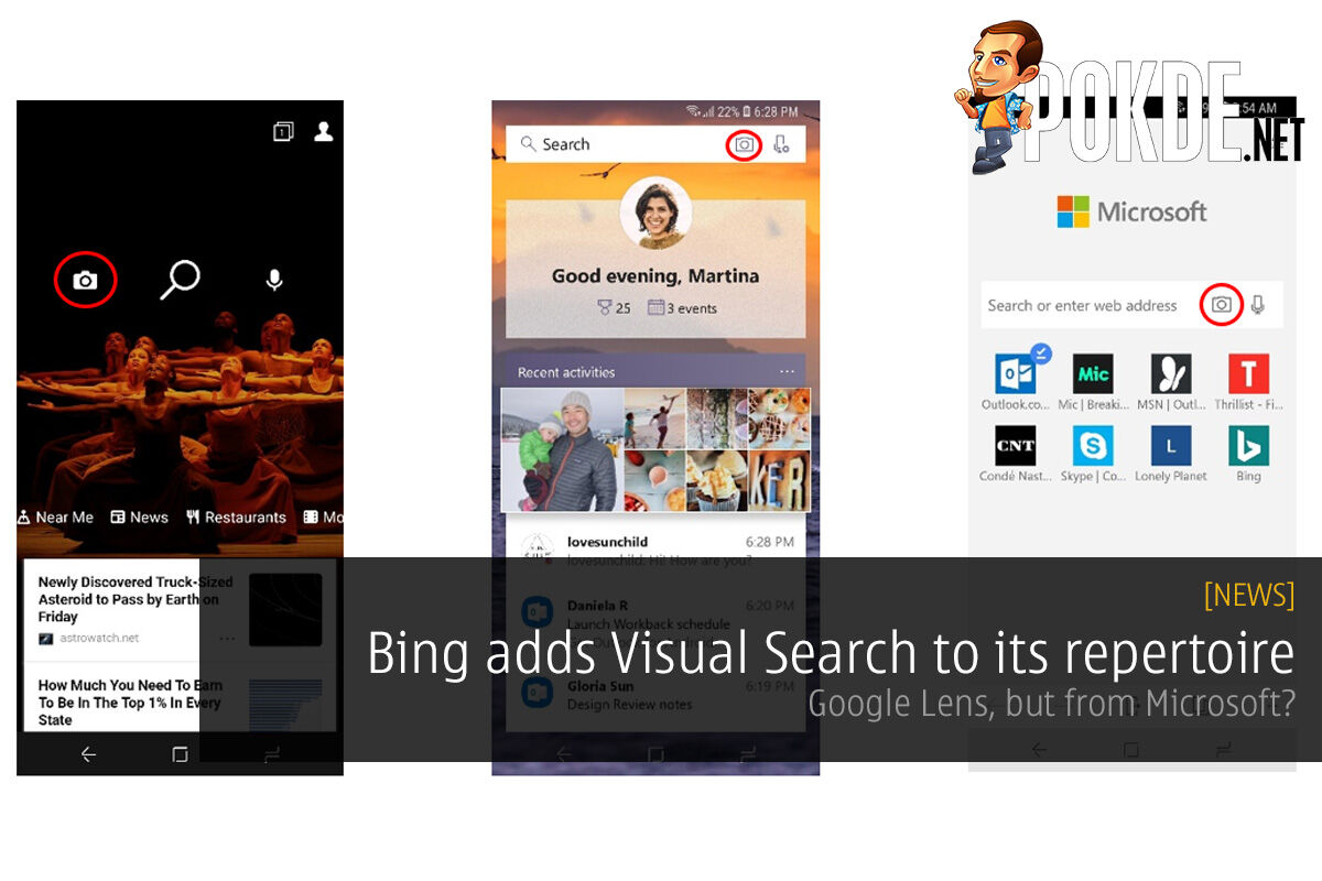 Bing adds Visual Search to its repertoire — Google Lens, but from Microsoft? 22