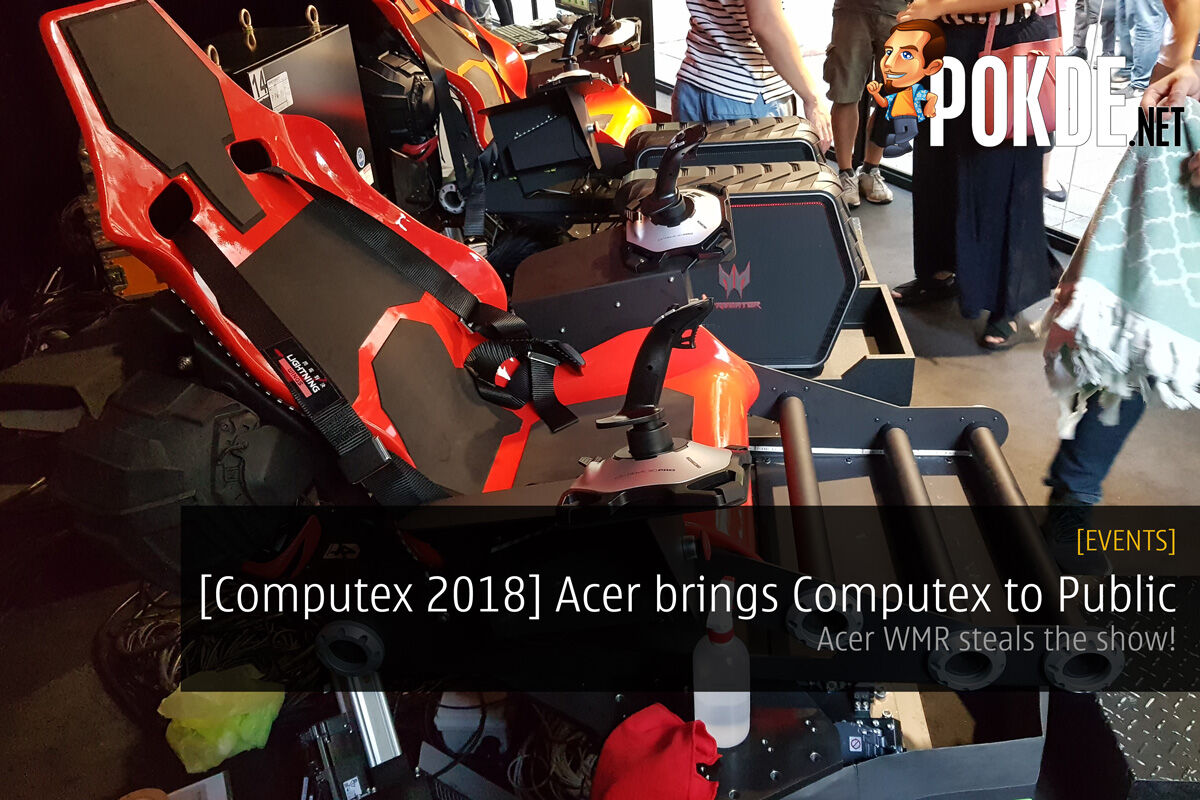 [Computex 2018] Acer brings Computex to Public - Acer WMR steals the show! 31