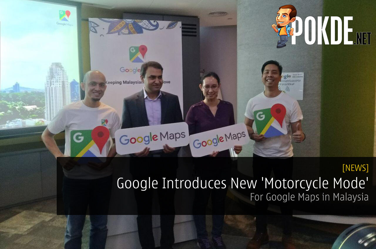 Google Introduces New 'Motorcycle Mode' For Google Maps in Malaysia 22