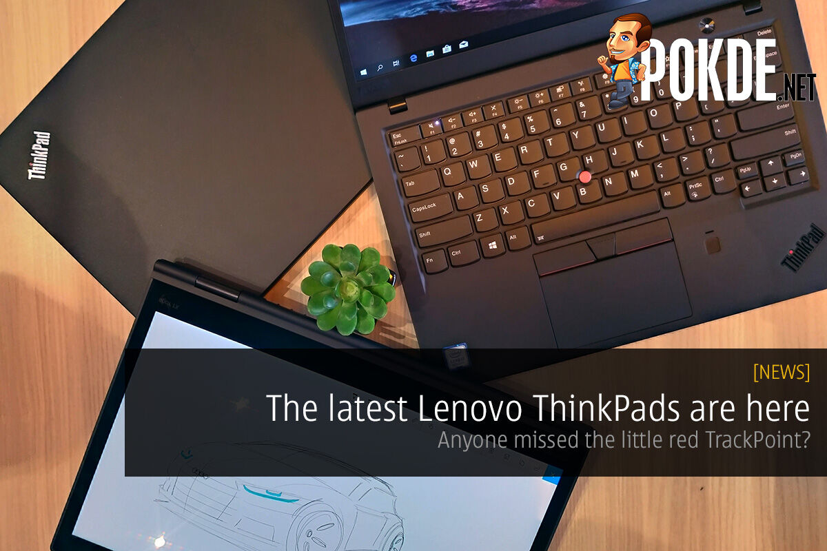 The latest Lenovo ThinkPads are here — anyone missed the little red TrackPoint? 28