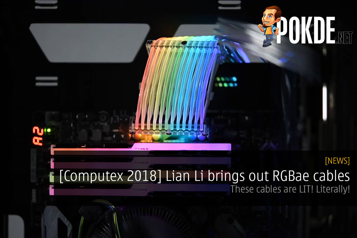 [Computex 2018] Lian Li brings out RGBae cables — the Lian Li Strimer RGB cables are LIT! Literally! 34