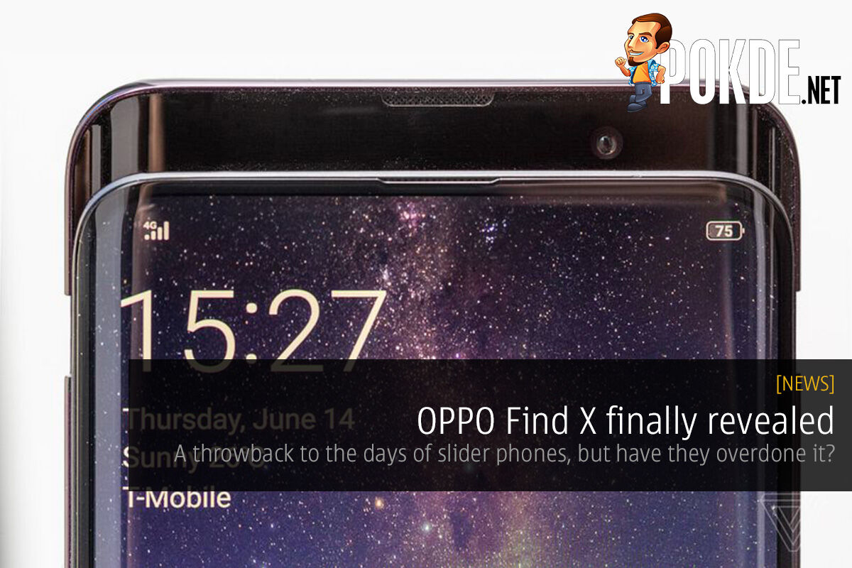 [UPDATE 2: Availability] OPPO Find X officially revealed — a throwback to the days of slider phones, but have they overdone it? 22