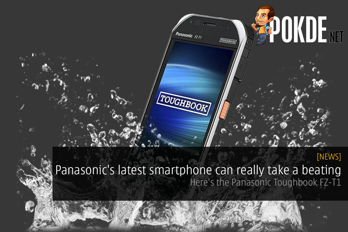 Panasonic's latest smartphone can really take a beating — here's the Panasonic Toughbook FZ-T1 19