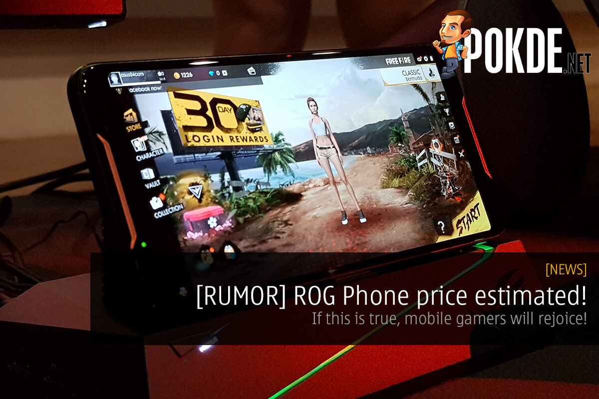 [RUMOR] ROG Phone price estimated! If this is true, mobile gamers will rejoice! 29