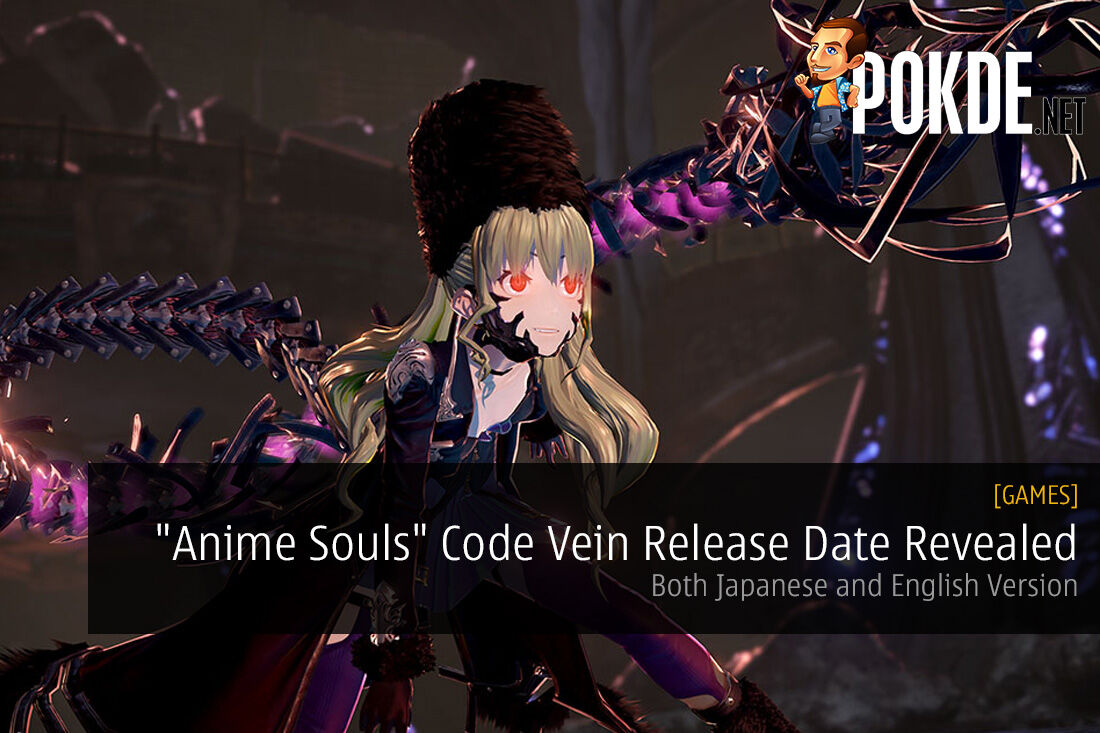 """""""Anime Souls"""" Code Vein Release Date Revealed"""