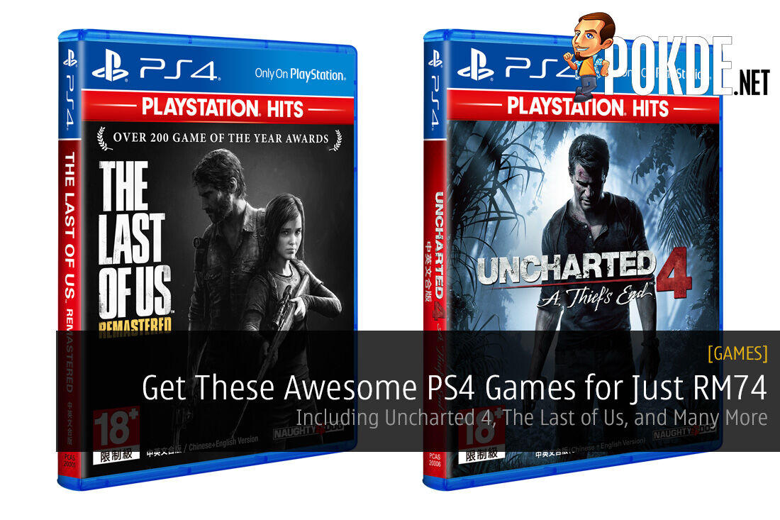 Get These Awesome PS4 Games for Just RM74 PlayStation Hits Series PlayStation 4