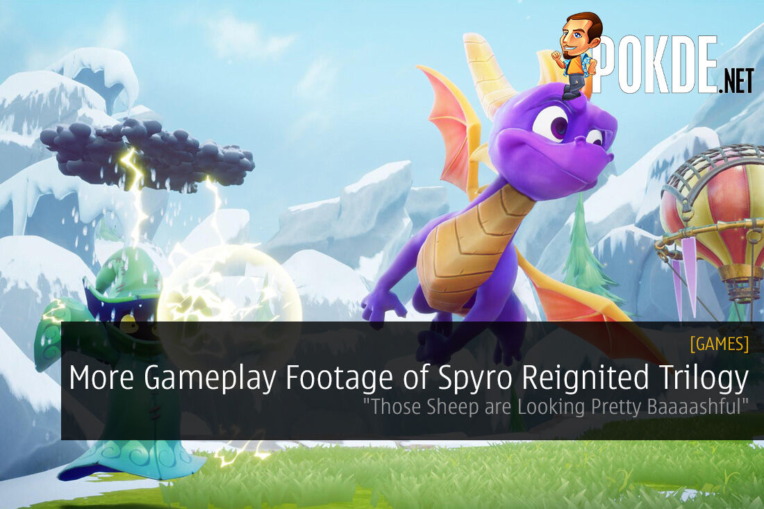 More Gameplay Footage of Spyro Reignited Trilogy