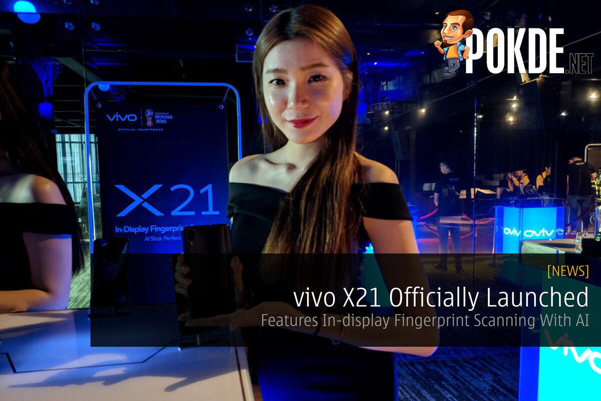 vivo X21 Officially Launched — Features In-display Fingerprint Scanning With AI 23