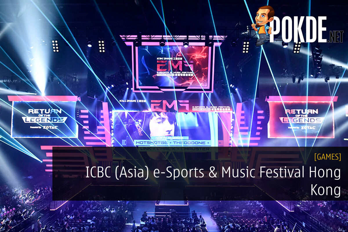 ICBC (Asia) e-Sports & Music Festival Hong Kong — Largest Local e-Sports WIth Over 110 Players 27
