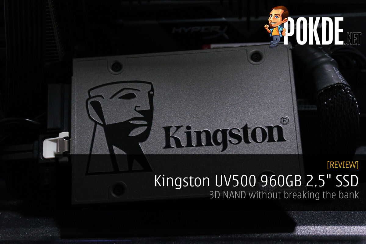 "Kingston UV500 960GB 2.5"" SSD review — 3D NAND without breaking the bank 19"