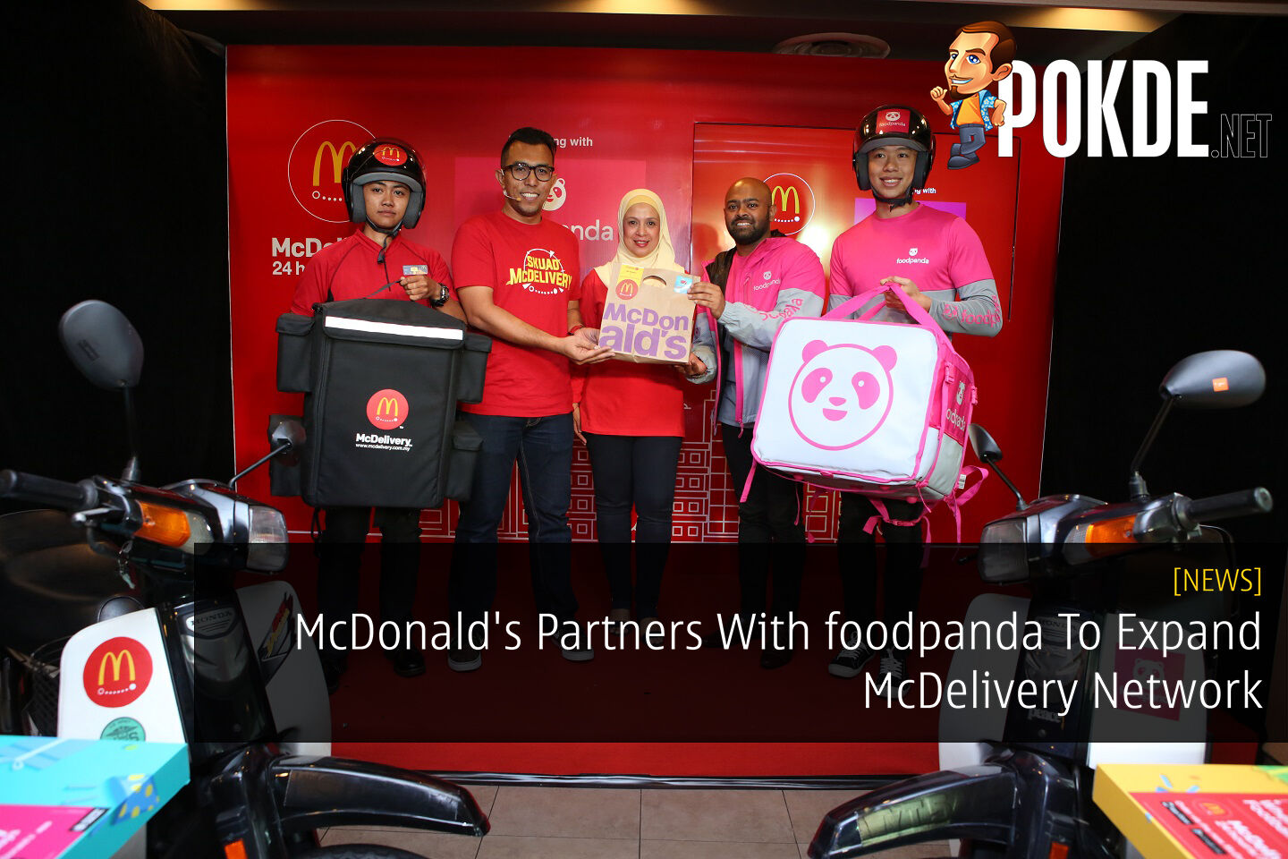 McDonald's Partners With foodpanda To Expand McDelivery Network 31