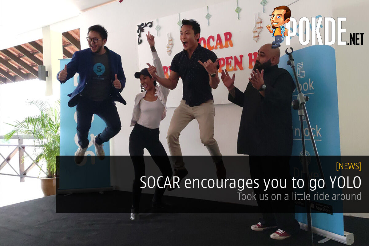 SOCAR encourages you to go YOLO — take one-way trips to the airport and win free YOLO trips! 30