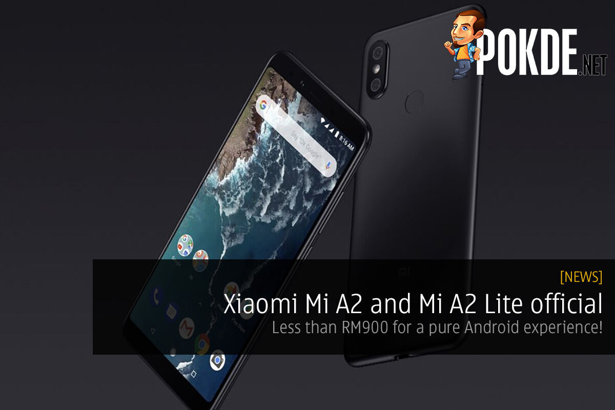 Xiaomi Mi A2 and Mi A2 Lite official — less than RM900 for a pure Android experience! 23