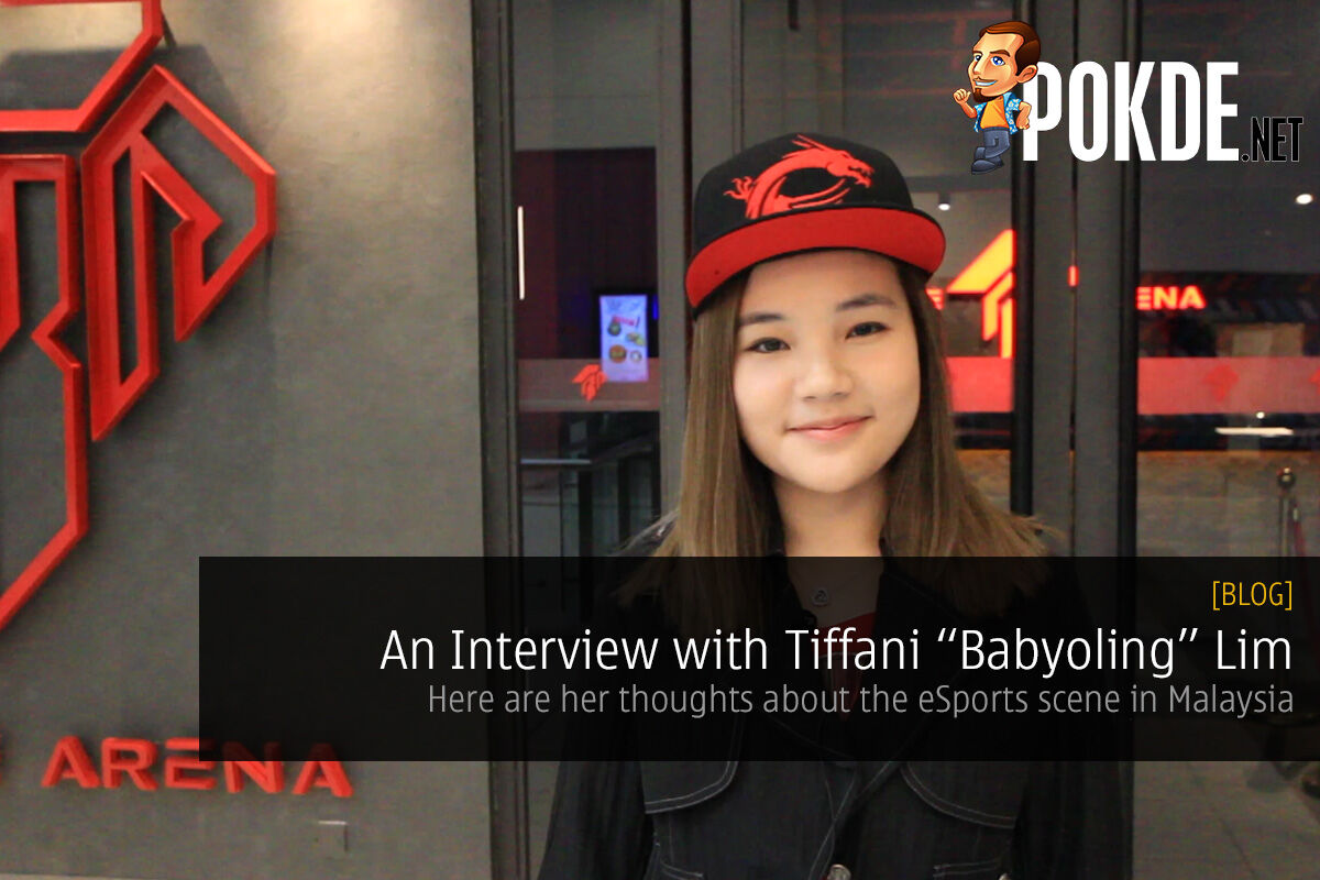 An Interview with Babyoling — here are her thoughts about the eSports scene in Malaysia 24