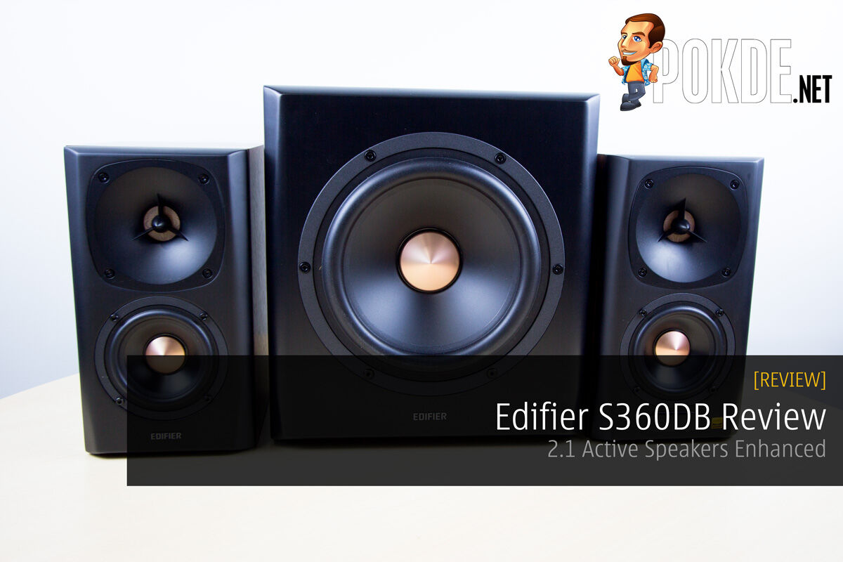 Edifier S360DB Review - 2.1 Active Speakers Enhanced 25