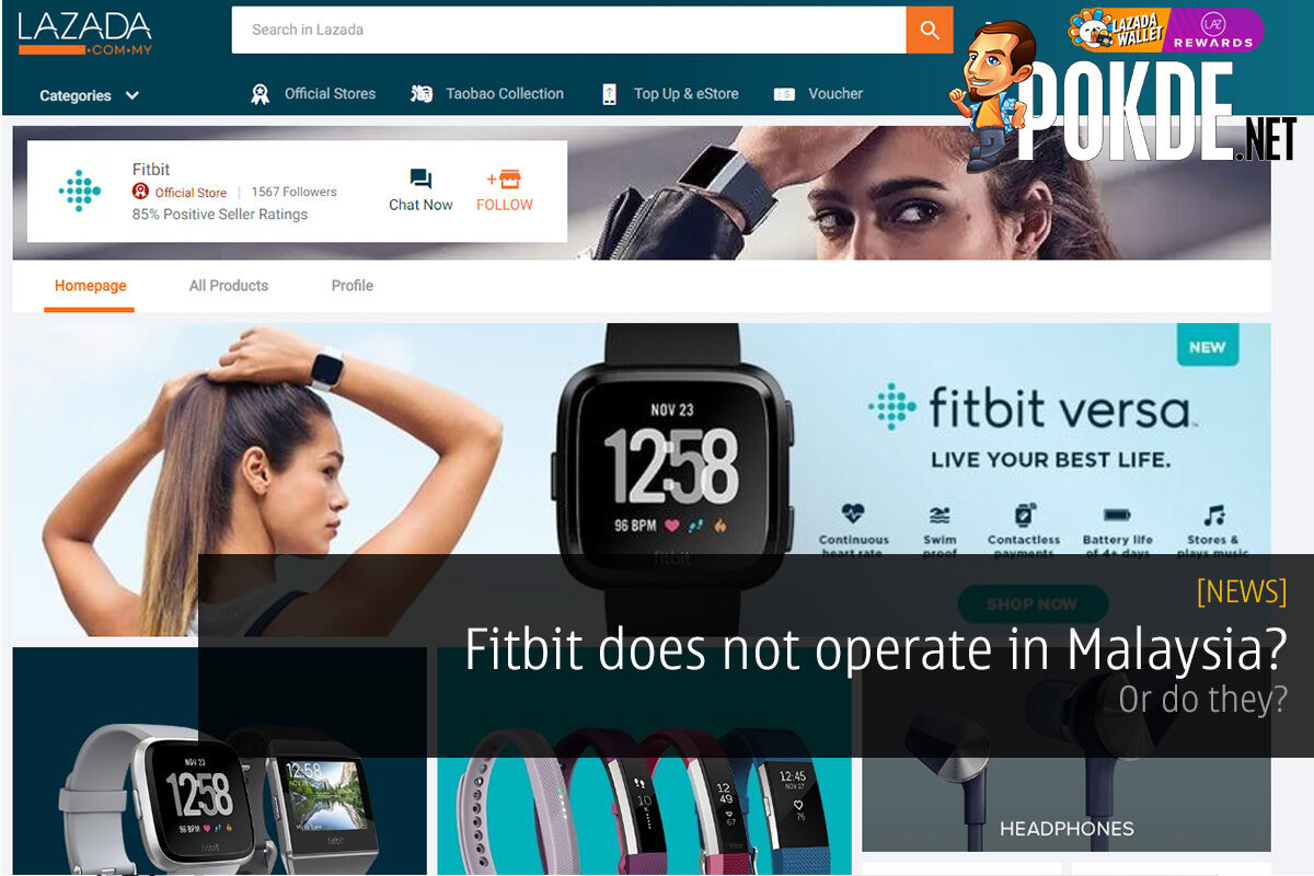 Fitbit does not operate in Malaysia? Or do they? 24