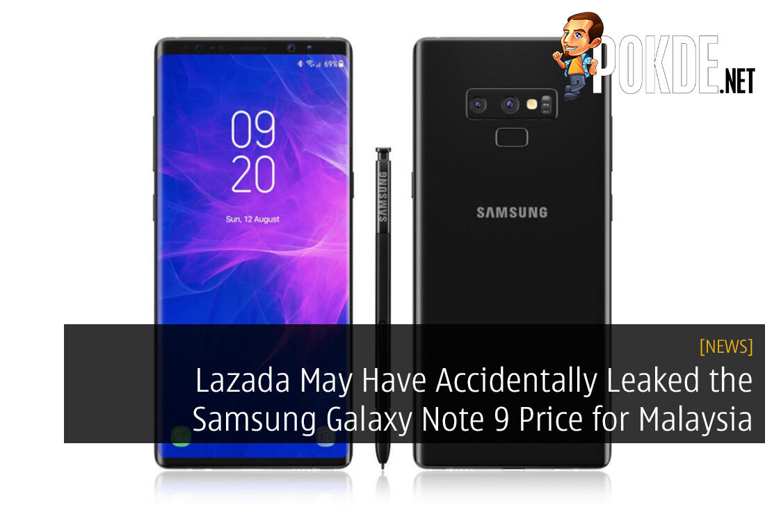 Lazada May Have Accidentally Leaked the Samsung Galaxy Note 9 Price for Malaysia 26