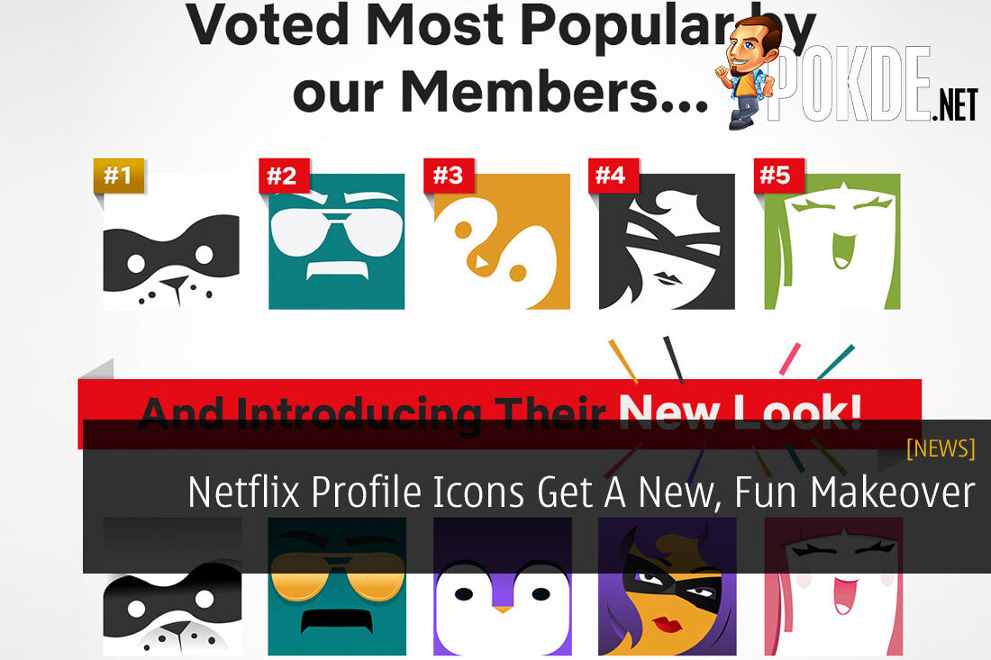 Netflix Profile Icons Get A New, Fun Makeover