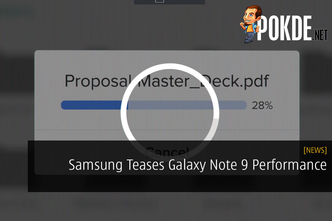 Samsung Teases Galaxy Note 9 Performance, Possible 8GB RAM?