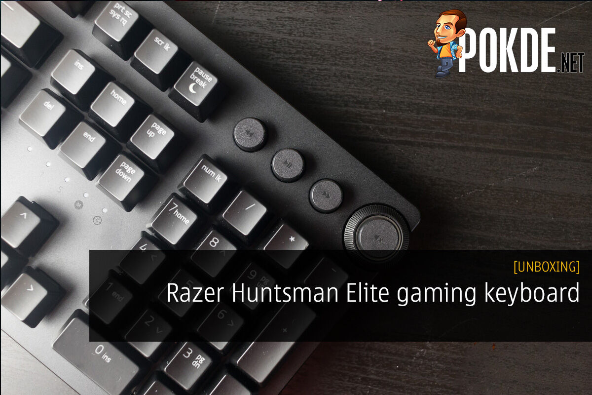 [UNBOXING] Razer Huntsman Elite Opto-Mechanical Gaming Keyboard 34