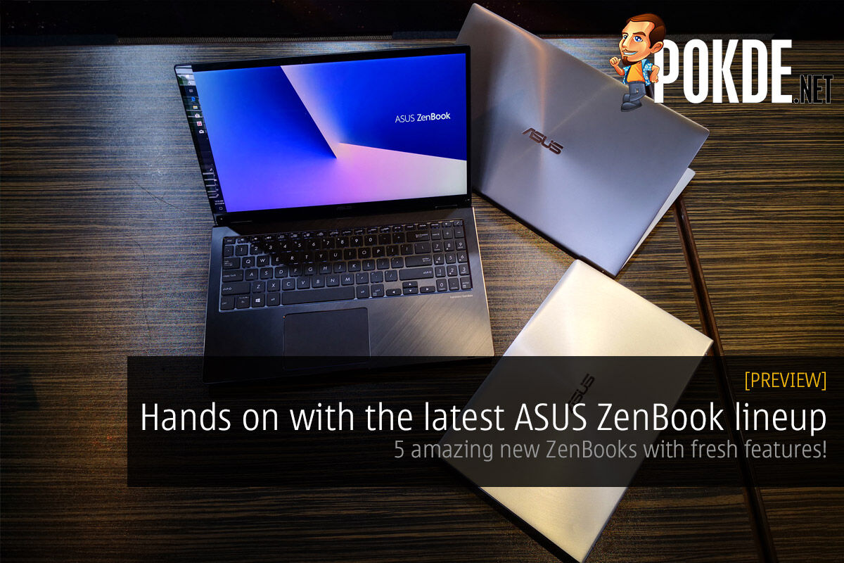 Hands on with the latest ASUS ZenBook lineup — 5 amazing new ZenBooks with fresh features! 26
