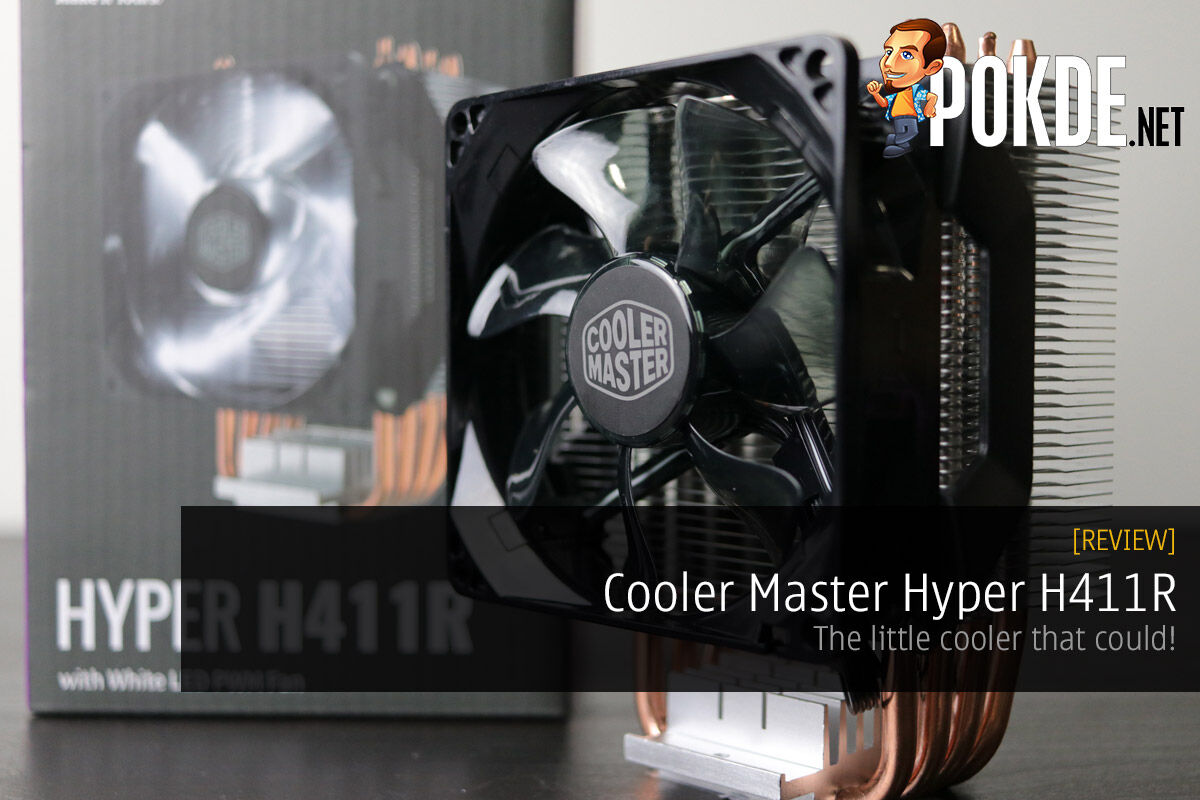 Cooler Master Hyper H411R review — the little cooler that could! 28