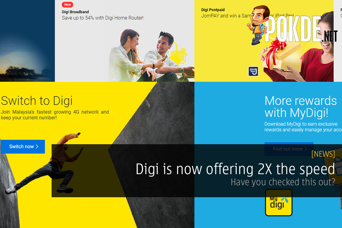 Digi is now offering 2X the speed — have you check this out? 26