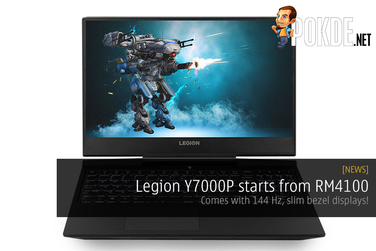 Legion Y7000P starts from RM4100 — comes with 144 Hz, slim bezel displays! 30