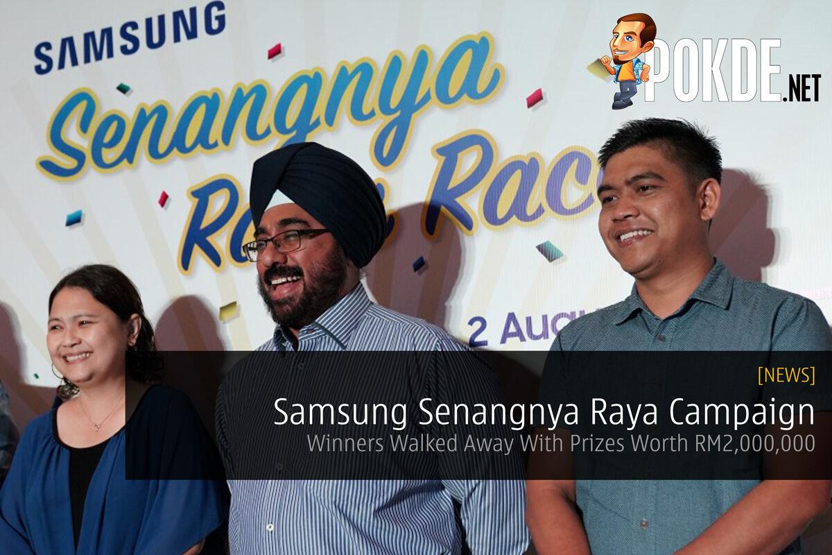 Samsung Senangnya Raya Campaign — Winners Walked Away With Prizes Worth RM2,000,000 29