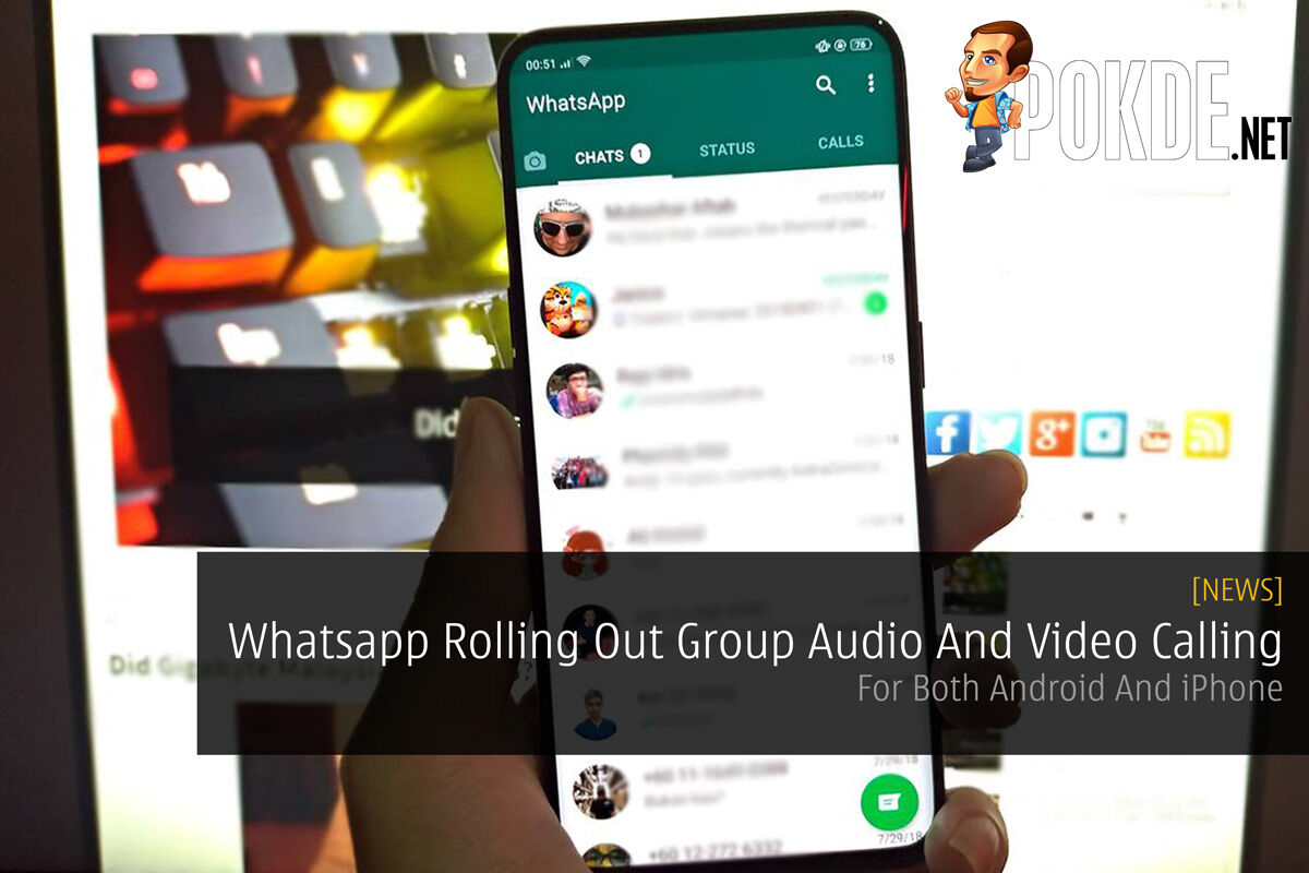 Whatsapp Rolling Out Group Audio And Video Calling — For Both Android And iPhone 21