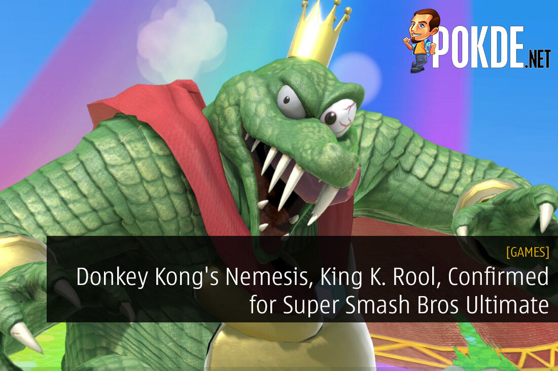 Donkey Kong's Nemesis, King K. Rool, Confirmed for Super Smash Bros Ultimate