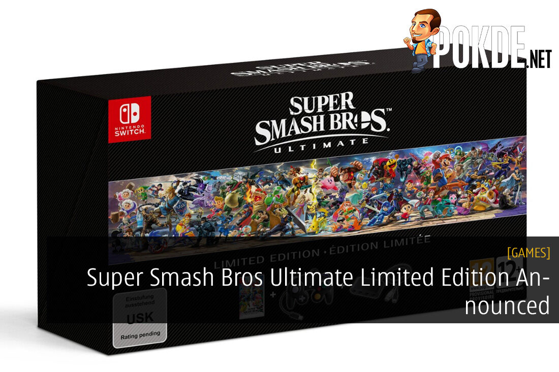 Super Smash Bros Ultimate Limited Edition Announced