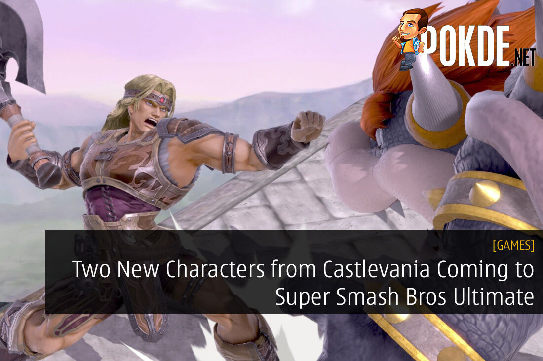 Two New Characters from Castlevania Coming to Super Smash Bros Ultimate