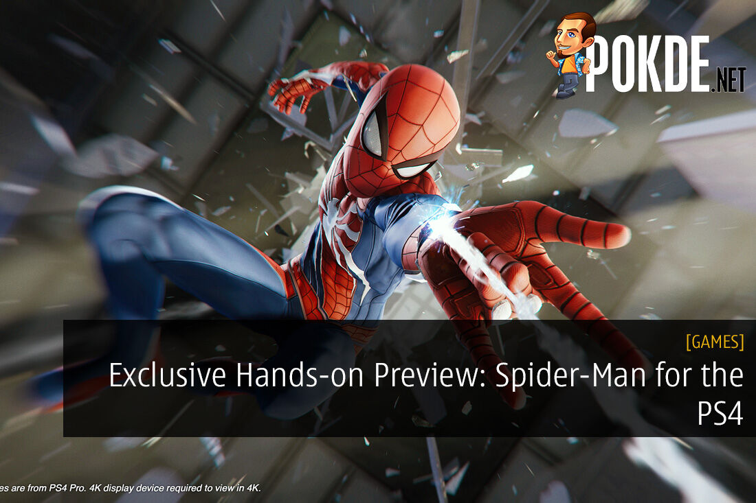 Exclusive Hands-on Preview: Spider-Man for the PS4