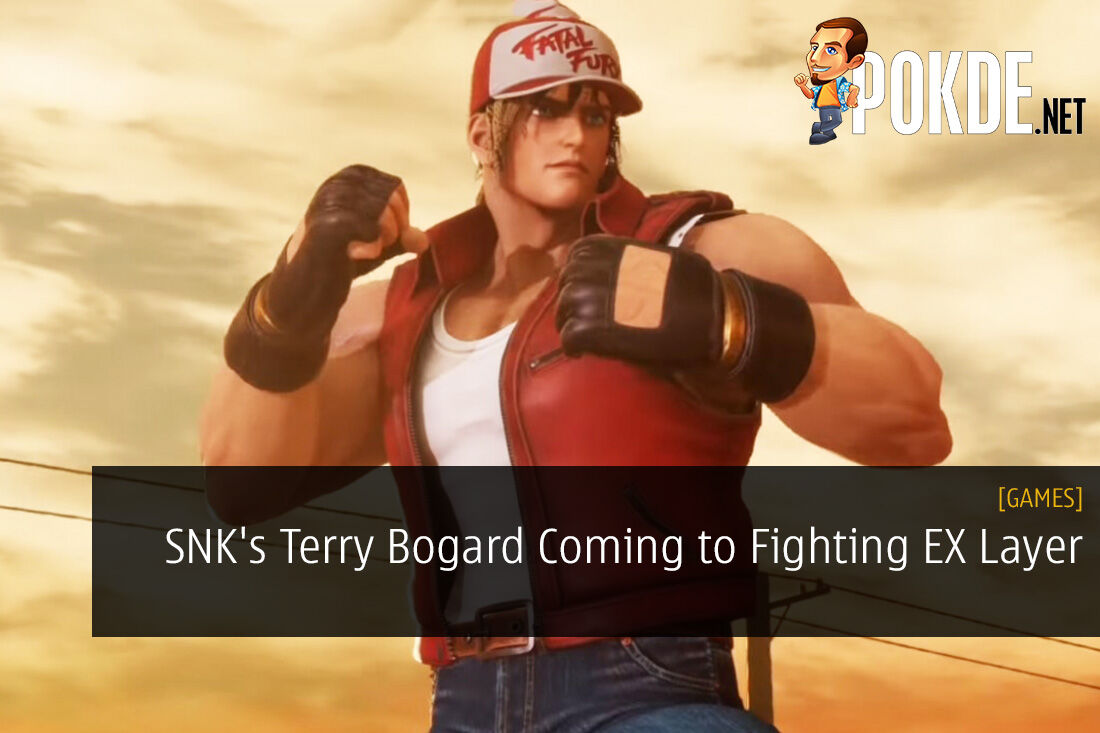 SNK's Terry Bogard Coming to Fighting EX Layer