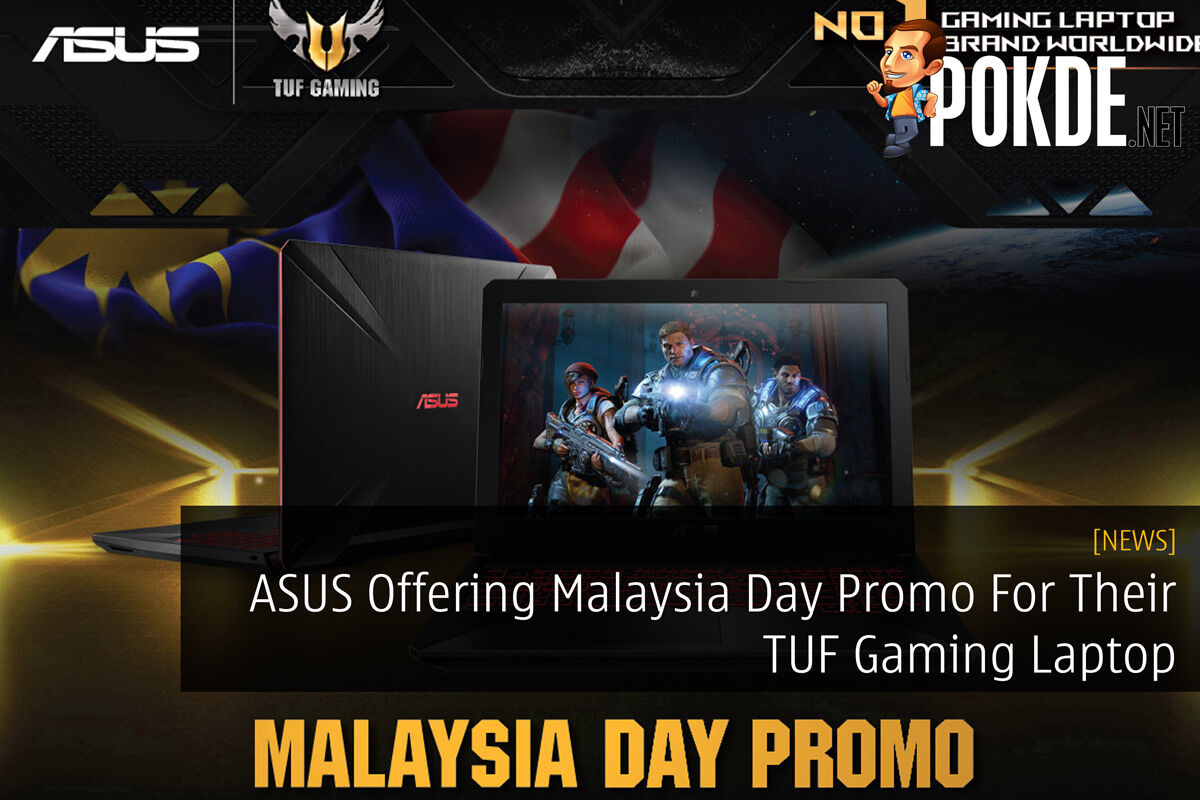 ASUS Offering Malaysia Day Promo For Their TUF Gaming Laptop 24