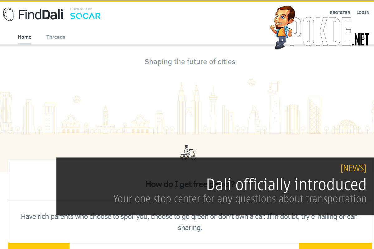 Dali officially introduced — your one stop center for any questions about transportation 25