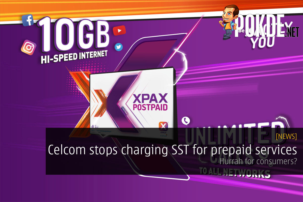Celcom stops charging SST for prepaid services — hurrah for consumers? 18